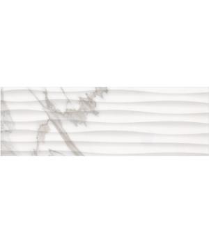 Настенная плитка Миланезе Дизайн 1064-0158 20х60 каррара волна