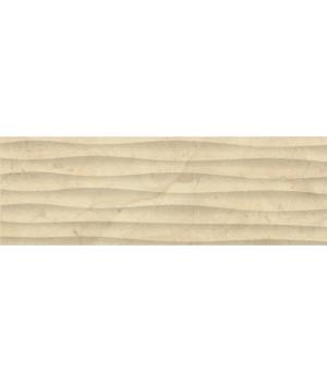 Настенная плитка Миланезе Дизайн 1064-0160 20х60 крема волна
