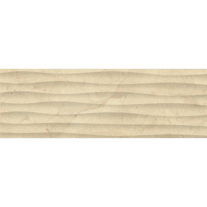1064-0160   Настенная плитка Миланезе Дизайн 1064-0160 20х60 крема волна Lasselsberger Ceramics
