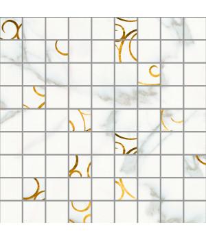 Настенная плитка мозаика Миланезе Дизайн 1932-1084 30х30 натуральный