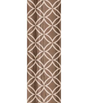 Настенная плитка декор Модерн Марбл 1664-0031 20х60 темная