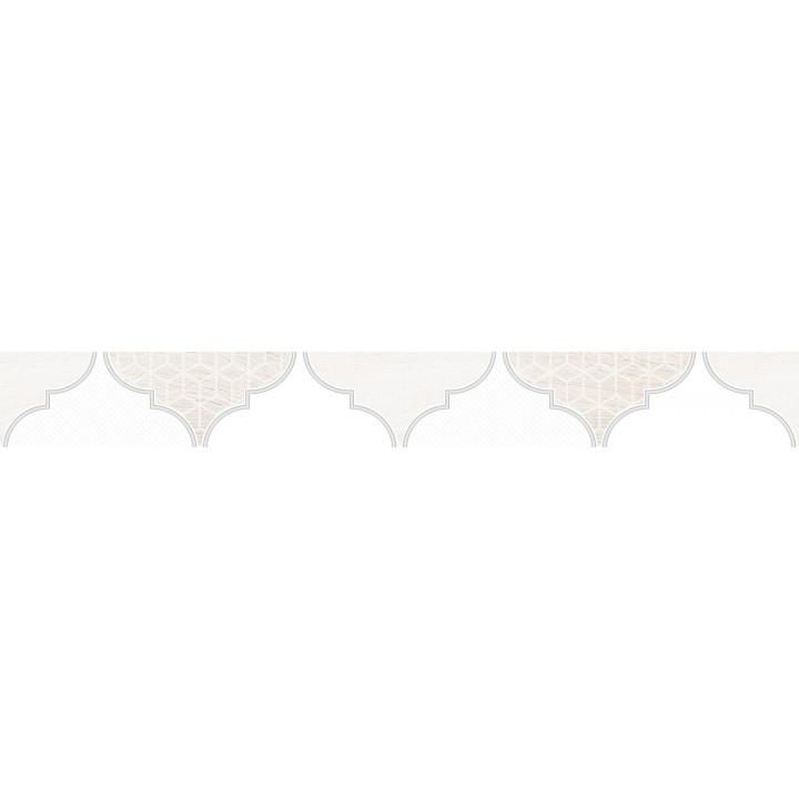 1504-0170 | Бордюр настенный Мореска 1504-0170 5,5х40 бежевый Lasselsberger Ceramics