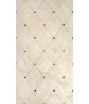 Настенная плитка Оникс декор 1645-0036 25x45 бежевая