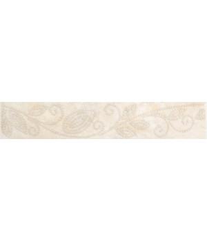 Бордюр настенный Оникс жемчуг 1501-0045 4,5x25 бежевый