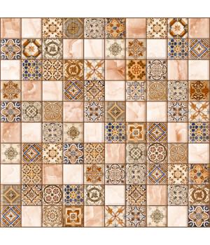 Настенная плитка арт-мозайка Орнелла 5032-0199 30х30 универсальная коричневая