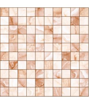 Настенная плитка мозайка Орнелла 5032-0201 30х30 коричнневая