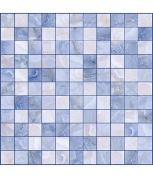 Настенная плитка мозайка Орнелла 5032-0202 30х30 синий