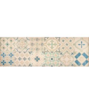 Настенная плитка декор Парижанка 1664-0178 20x60 мозаика