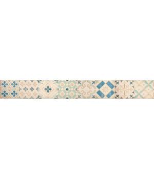 Бордюр настенный Парижанка 1506-0173 7,5x60 мульт.
