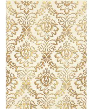 Настенная плитка декор Катар1634-0090 25х33 белый