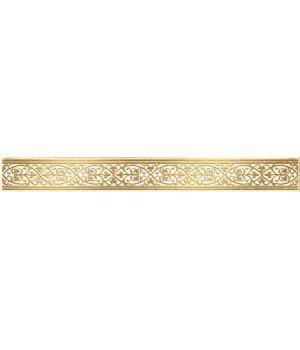 Бордюр настенный Катар 1502-0577 2,8х25 белый