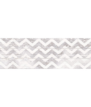 Настенная плитка Шебби Шик декор 1064-0098 20х60 серая