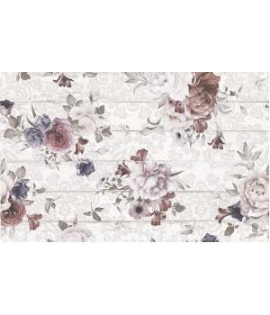 Панно настенное Шебби Шик 1606-0006 40х60 цветы