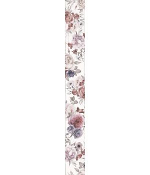 Бордюр настенный Шебби Шик 1506-0018 7x60 белый