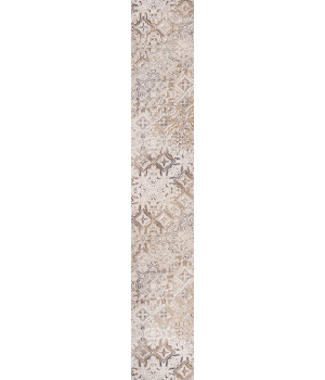 Бордюр настенный Сумерки 1504-0155 7,5x45 бежевый