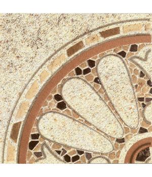 Вставка угловая напольная Тенерифе 3602-0005 14х14 бежевая