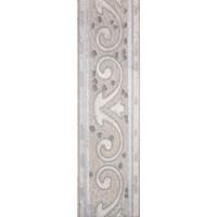Бордюр напольный Тенерифе 3604-0104 14х45 серебряный