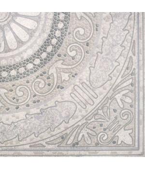 Панно напольное Тенерифе 3609-0005 90х90 серебряное (комплект из 4 шт)