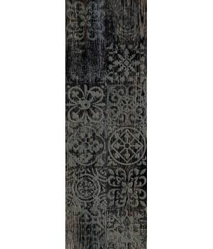 Керамогранит декор Венский Лес 3606-0022 20х60 черный