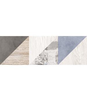 Настенная плитка декор 1 Вестанвинд 1064-0167 20х60 натуральный