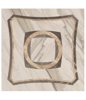Керамический гранит Портофино белый Интарсио