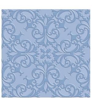Керамическая плитка Прованс синий напольная