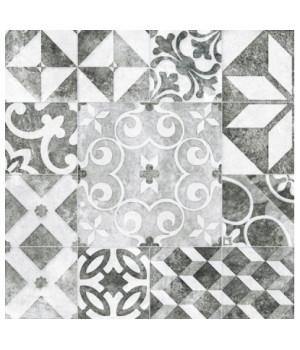 Керамический гранит Raven серый пэтчворк RE4R093