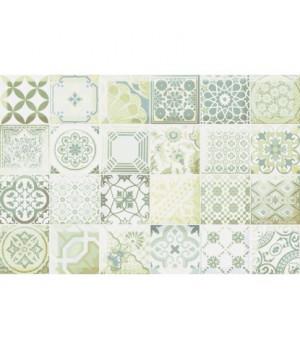 Керамический декор Равенна зеленый
