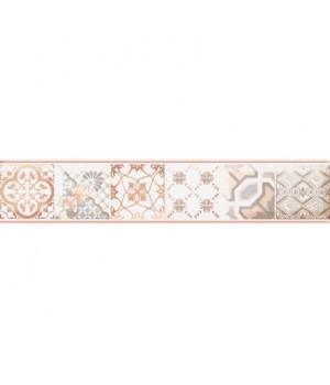Керамический бордюр Равенна коричневый