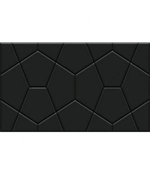 Керамическая плитка Rialto black wall 02