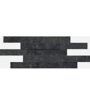 Керамическая мозайка Room Black Brick 3D