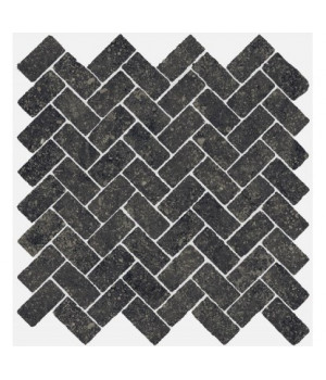 Керамическая мозайка Room Black Mosaico Cross