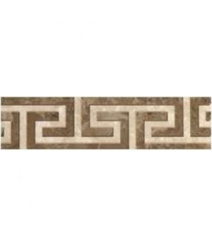 Керамический бордюр Saloni brown 01