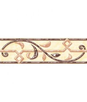 Керамический бордюр Саяны 62-03-23-037 песочный
