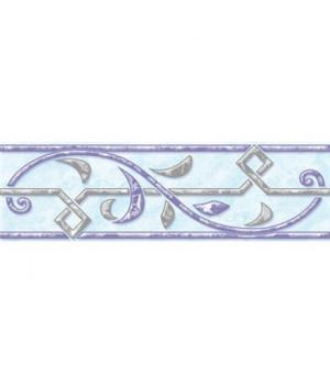 Керамический бордюр Саяны 62-03-61-037 голубой