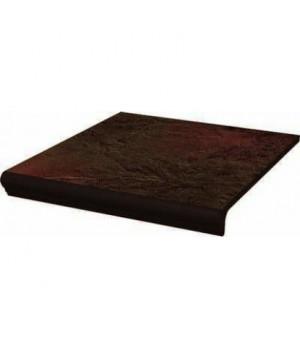 Ступень SEMIR BROWN коричневый с капиносом структура