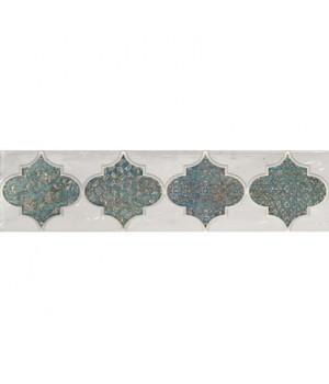 Керамический декор Solera turquoise 01