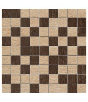 Керамический декор Mosaico коричневый напольный