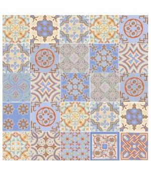 Керамическая плитка Валенсия синий напольная