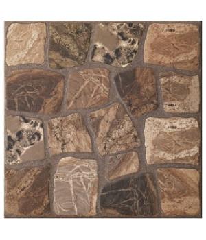 Керамический гранит Vilio коричневый VLI-FTA112