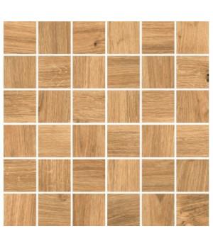Керамическая мозаика Woodhouse коричневый WS6O116
